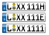 PKW-Kennzeichen