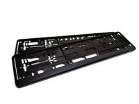 Kennzeichenhalter schwarz 520x110-PREMIUM-
